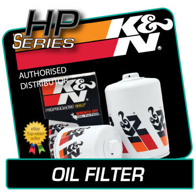 HP-2005 K&N OIL FILTER fits AUDI CABRIOLET 2.8 V6 1994