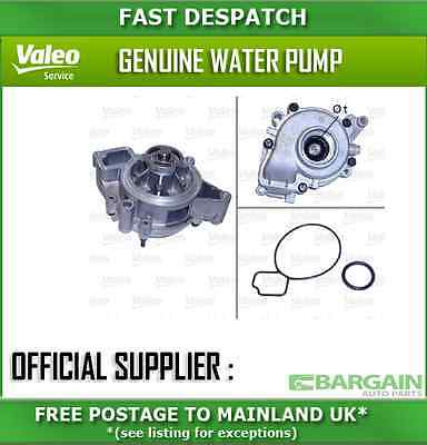 506839 2648 Valeo Water Pump For Vauxhall Vectra 2 2003-2008