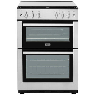 Stoves SG60DO Gas Cooker with Gas Hob Free Standing 60cm Stainless Steel New
