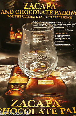 Ron Zacapa Rum glass