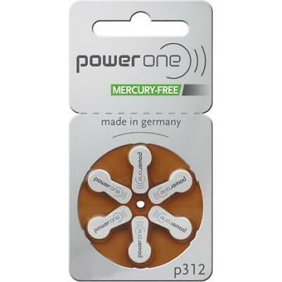 PowerOne Piles auditives taille 312