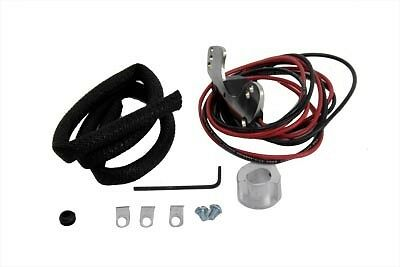 New V-Twin Harley Davidson 48-65 Fl Electronic Distributor Top Conversion