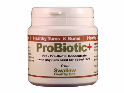 Pre / Probiotic+ Powder 100g Fibre Cat Dog Gut Health Digestion Supplement Psyll