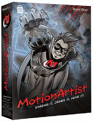 Smith Micro Motion Artist  New Retail Animation Software for Win/Mac FAST POST