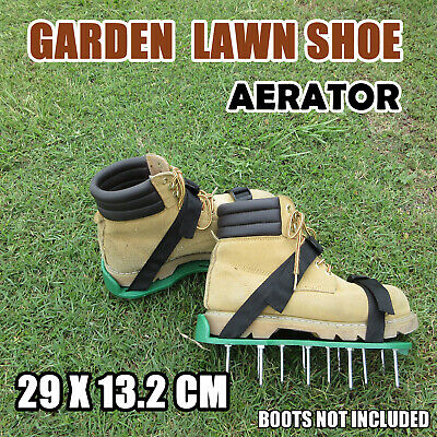Sod Aerator Spike Shoes Garden Care Strap Shoes Garden TOOL