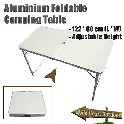 Portable Folding Table Camping Outdoor Garden Party BBQ Desk Picnic Table