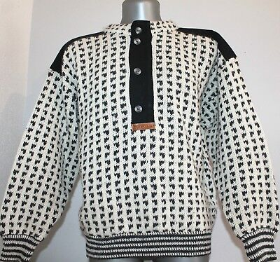 DEVOLD Norway Vintage  70% WOOL Nordic Sweater Pullover Dale Of Telemark.S/48