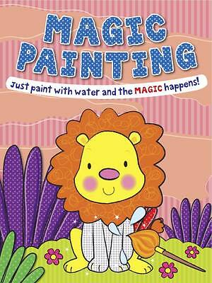 Magic Painting Book Lion: Just Paint with Water and the Magic Happens! NEW