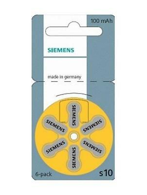 Siemens Piles auditives taille 10