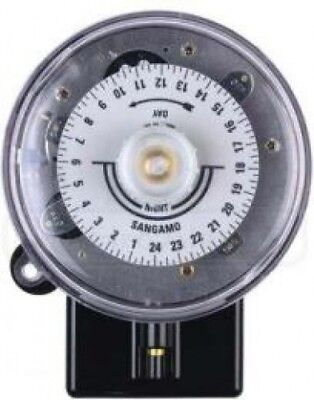 Sangamo S254/3 20A 3 Pin 24 Hour Round Pattern Time Switch