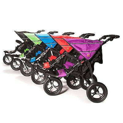 Out n About Single Nipper V4 NEW/Safety Buggy Lights/Raincover + Basket