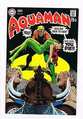 Aquaman # 46 The Explanation! grade 7.5 scarce book !!