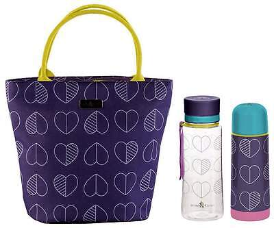 Beau & Elliot Confetti Outline Midnight Lunch Tote, Bottle & Vacuum Flask