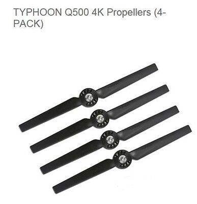 GENUINE YUNEEC Typhoon Q500 4K Propellers For Typhoon Quadcopter 4-Pack Prop Set