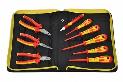 CK T5953 Electrician's VDE Pliers & Screwdrivers Tool Kit - PZ