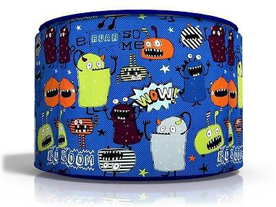 """MONSTERS CEILING LIGHT LAMP LIGHT SHADE 11"""" matches next KIDS ROOM  FREE  P & P"""