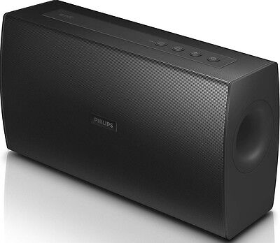 Philips BT4000B Portable Rechargeable Bluetooth Wireless Speakers - Black B+