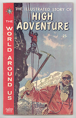 World Around Us #27 FN High Adventure (Mountains), Crandall, Morrow Evans Torres