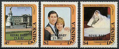 Dominica 1982 21st Birthday of Princess of Wales MNH