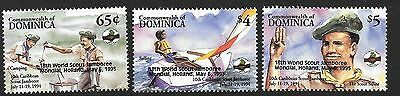 Dominica 1995 Scout Jamboree opt MNH