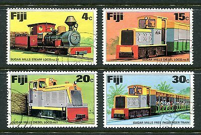 Fiji 1976 Sugar Trains  Used cto