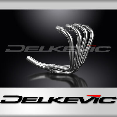 Kawasaki Z750L 81-84 Stainless Steel 4-1 Exhaust Downpipes Not Oem Compatible