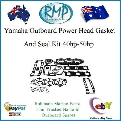 A Nice New Powerhead Gasket & Seal Kit Suits Yamaha 40hp-50hp # 6H4-W0001-02