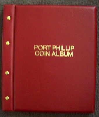 Port Phillip Coin Album- 6 Different Page Size-283 Coin