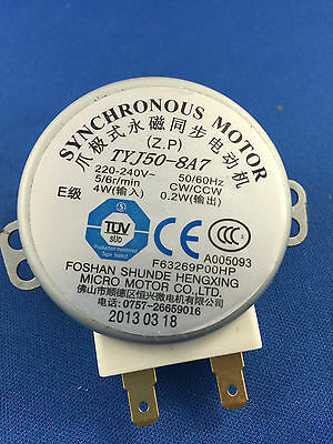 Whirlpool Microwave Oven Turntable Motor Amw540Ix  Vt256Sl Tyj50-8A7