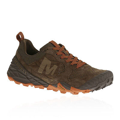 Merrell All Out Terra Turf Mens Orange Brown Walking Outdoors Sports Shoes