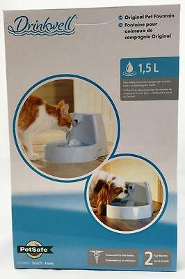 PetSafe Drinkwell Original Pet Water Drinking Fountain Bowl Cat Cats Dog Dogs