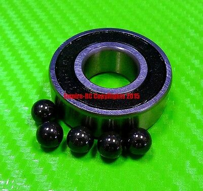 QTY 10 15x24x7 mm Hybrid Ceramic Ball Bearing Bearings 63802RS 63802-2RS