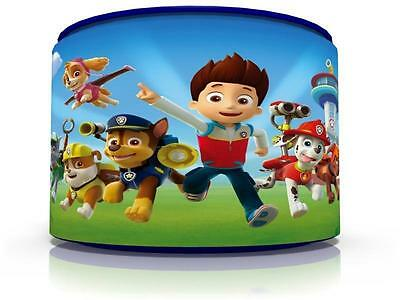 "PAW PATROL CEILING LIGHT LAMP LIGHT SHADE 11""  matches duvet  set  FREE  P & P"