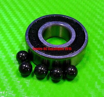 [QTY 1] (17x26x5 mm) S6803-2RS Stainless HYBRID CERAMIC Ball Bearings BLK 6803RS