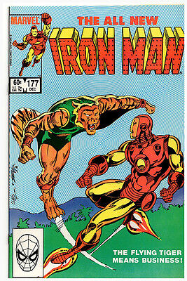 Iron Man #177 NM- McDonnell Mitchell - Flying Tiger