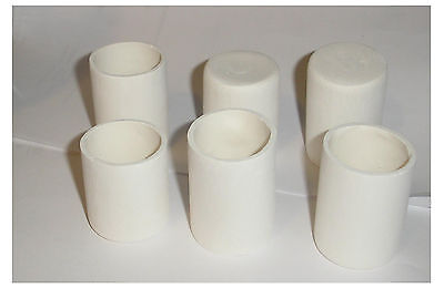 Nice Lot of 6 small  Glass Fusing / draping kiln mold