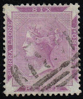 Sierra Leone 1885 6d. dull violet, used (SG#35a?)