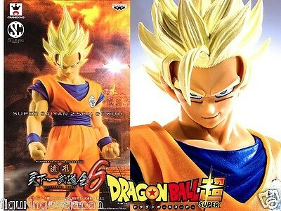 Dragon Ball DBZ Super Saiyan 2 SS2 Goku Banpresto SCultures Tenkaichi figure S