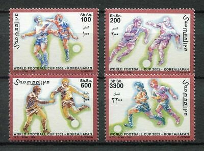 s7491) SOMALIA 2002 MNH** WC Football'02 - CM Calcio 4v