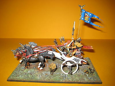 Tielindrion Elven Attack Chariot - amazing rare model painted by Michael Immig