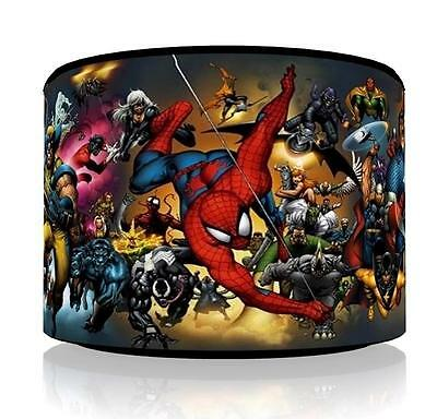 "Marvel Superheroes Ceiling Light Lamp Light Shade 11""  Free  P & P"