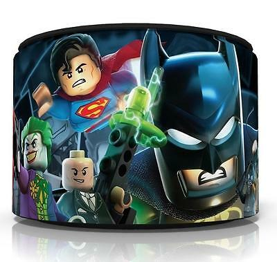 "Lego Batman Superheroes Ceiling Light Lamp Light Shade 11""  Free  P & P"