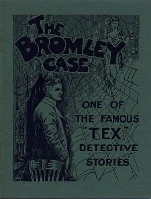 """Original Press Release Booklet """"the Bromley Case """" Starring Glen White As """"tex"""""""