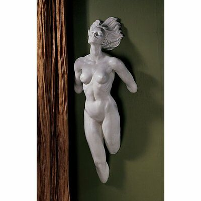 Erotic Nude Wall Sculpture Sexy Female Woman Statue Adult Fantasy Bedroom Art