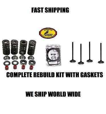 New Complete Intake Exhaust Spring Valve Rebuild Kit Gasket 00-Up Drz400 S E Sm