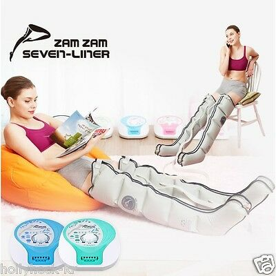 NEW SEVEN LINER ZAMZAM ZAM-02 Air Compression Circulation Massager Leg cuff E