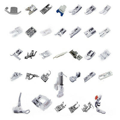 Domestic Sewing Machine Presser Foot Set For Janome Brother Singer New Home
