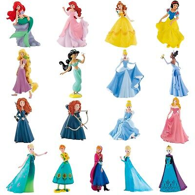 Disney Princess Figures - Cake Topper Decorations & Keepsakes - Bullyland