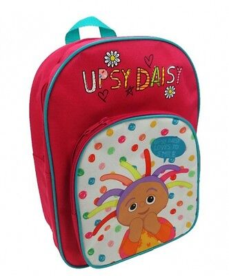 In The Night Garden 'Upsy Daisy' Arch Pocket School Bag Rucksack Backpack Gift