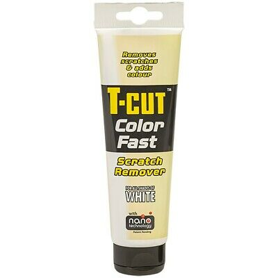 T-CUT White Car Polish Colour Fast Scratch Remover 150g T CUT